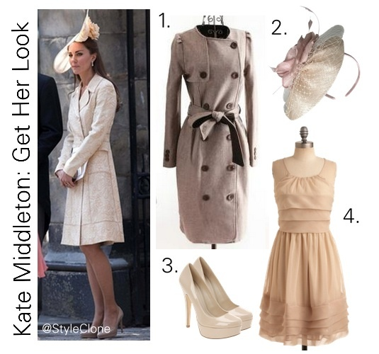 Kate for wearing Zara and for her own style!
