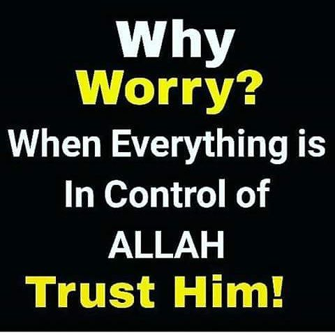 Whether we realize it or not, there are hidden blessings in our problems. Allah has a plan and we have to have trust. Remember: ALLAHﷻ is The One who gave us the problem  as a test, and He is The One to take us out of it