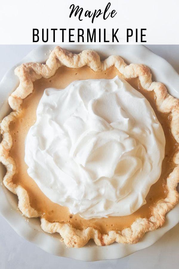 Deutsch Buttermilch Rhabarber Pie Mit Ahornsirup Rhubarb Maple Buttermilk Pie Recipe Healthy Sweets Recipes Maple Syrup Recipes Buttermilk Pie