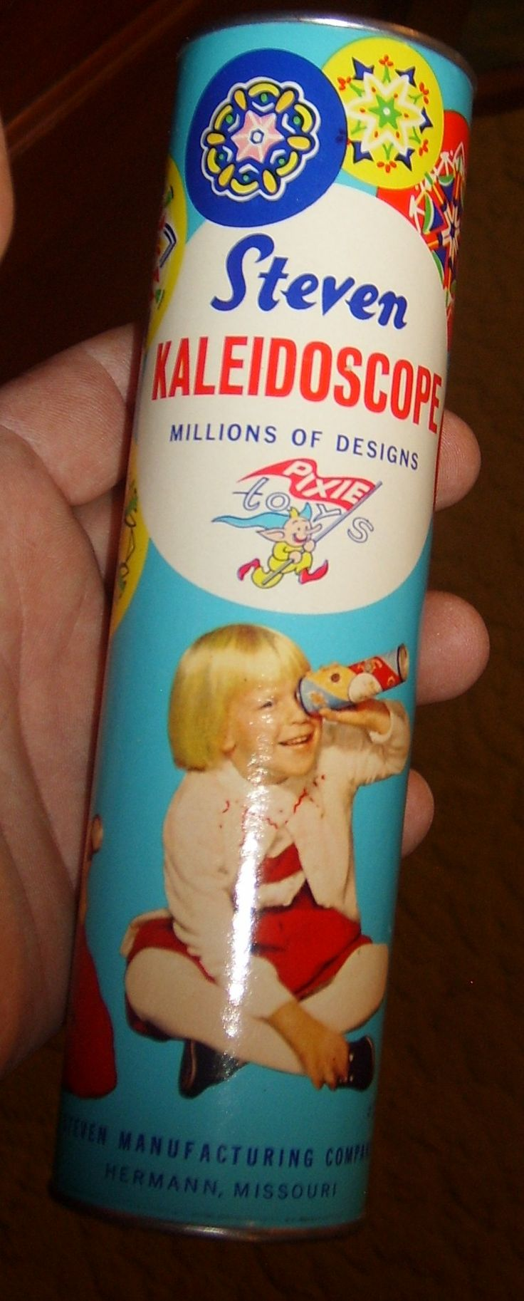 Kaleidoscope.  I would argue that it's this toy that led to doing drugs in the late '60s.  Bring on the pretty colors!  LOL