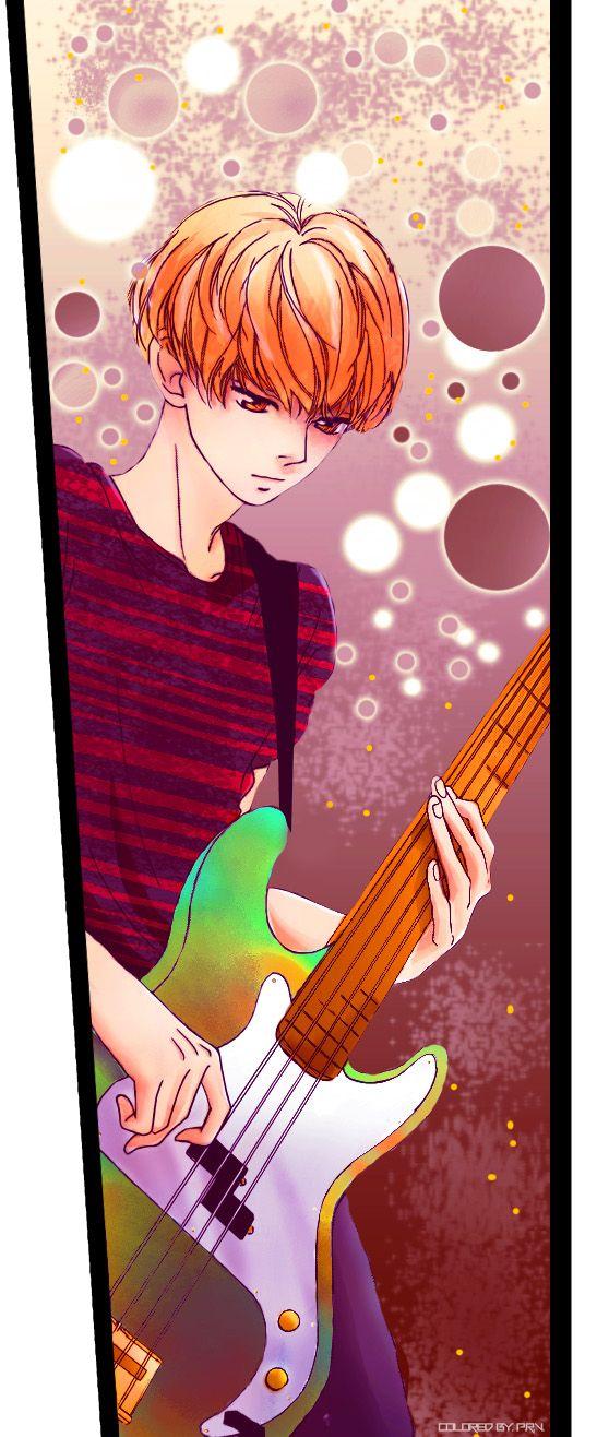 Kikuchi Touma (Bass) I really liked Touma, and it was a shame that they didn't end up together ♥