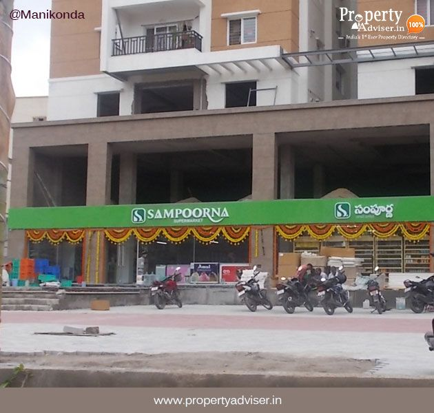 Flats For Sale In Manikonda Near New Sampoorna Super Market Sale House Supermarket House Hunting