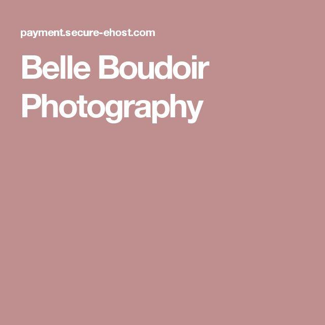 Belle Boudoir Photography