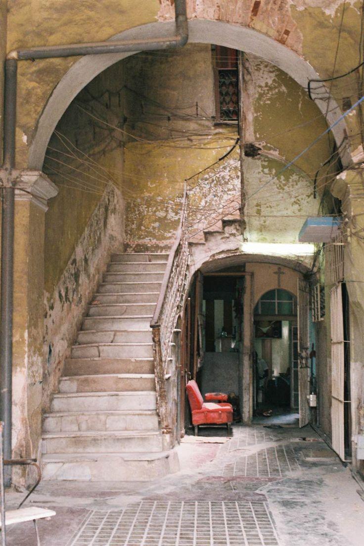 Abandoned in Havana, Cuba.