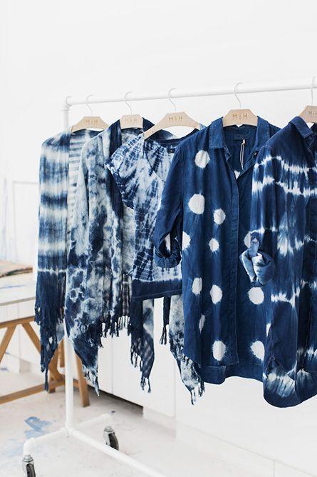 Shibori + MiH Jeans