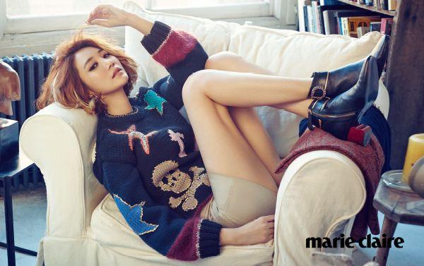 'Marie Claire Korea' March 2015   고준희 Go Jun Hee   Tommy Hilfiger