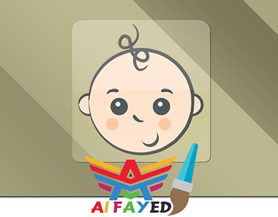 """Check out new work on my @Behance portfolio: """"Baby Card"""" http://be.net/gallery/33324465/Baby-Card"""