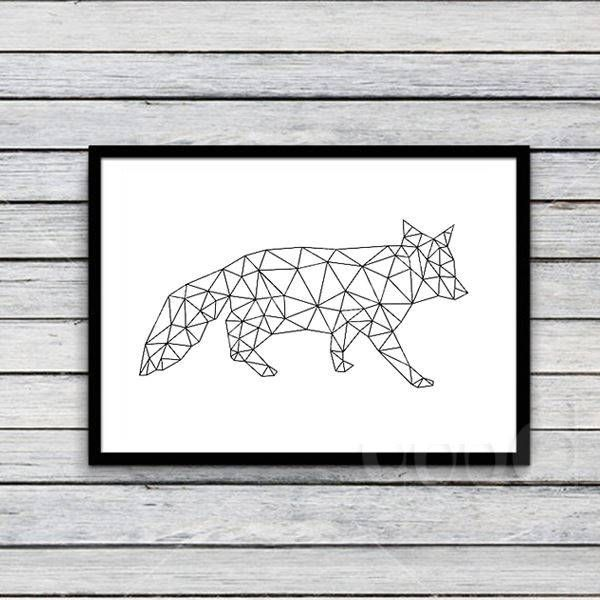 Cheap picture of notebook computer, Buy Quality picture of a sapphire directly from China picture shoes Suppliers:   Geometric Fox Canvas Art Print Poster,Wall Pictures For Home Decoration,Wall Decor Fa221-7