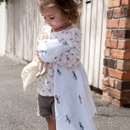 Snuggle Bug swaddle wrap by Aden + Anais