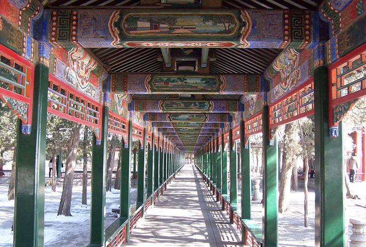 The Summer Palace corridor, Beijing, China