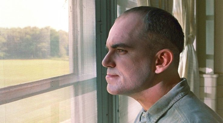 Karl in deep thought | Billy Bob Thornton as Karl Childers | Sling Blade (1996)
