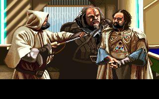 Star Trek V bar scene from video game   Star Trek video games