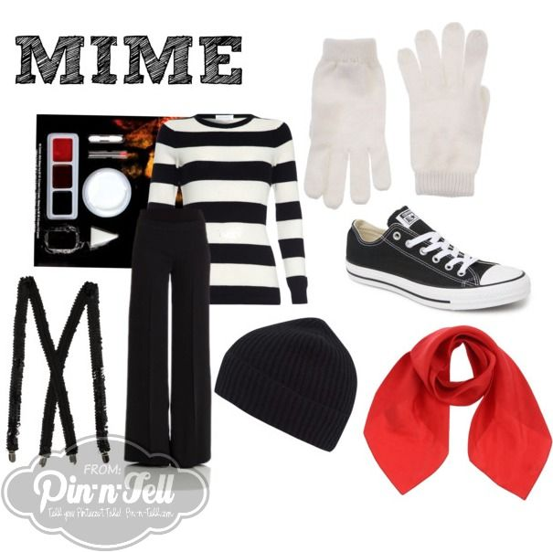 French Mime Costume Diy: 194 Best Images About Purim On Pinterest