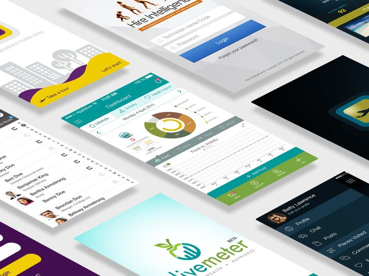 Mobile Application UI Designing (iOS/Android) by xhtmlcut - 87591
