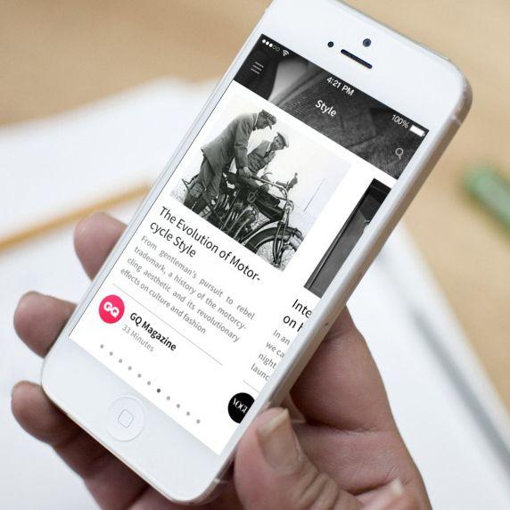 News App - Maria by Ismail MESBAH, via Behance