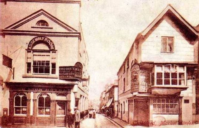 The Red Lion and The Bull's Head, High Street, Guildford.