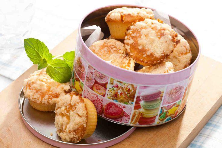 Maślane babeczki z kruszonką. #maślane #bułeczki #maślanka #herbatka #herbata #smacznastrona #tesco #przepisy #przepis #tescoparty
