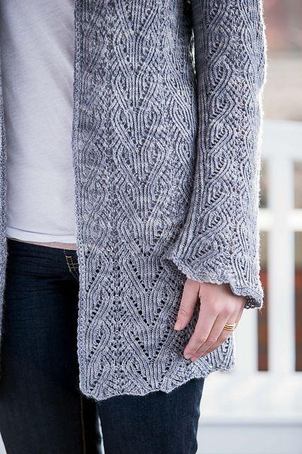 Ravelry: Ocracoke Cardigan pattern by Shirley Paden
