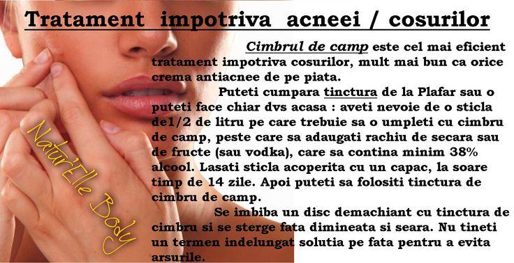 Tratament anti acnee / coșuri
