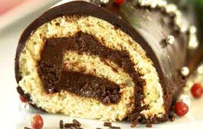 La buche au chocolat