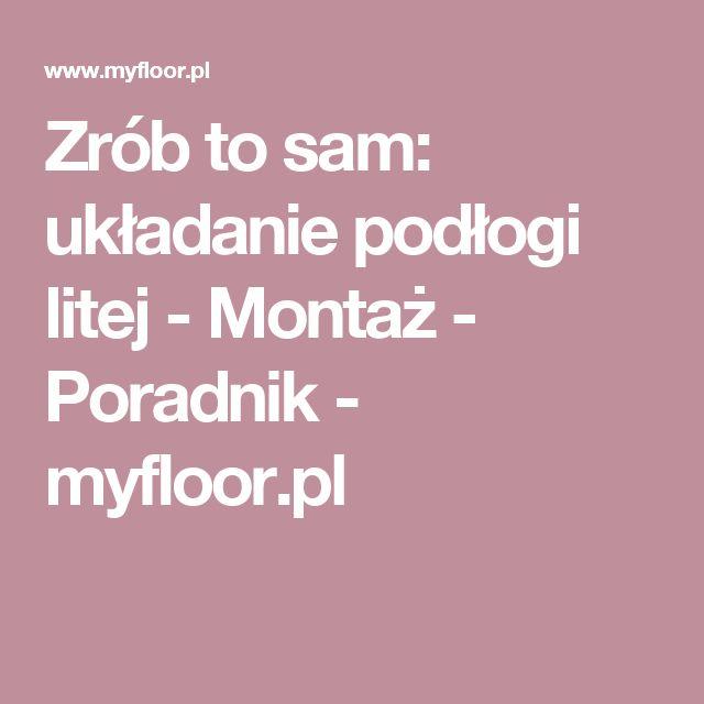 Zrób to sam: układanie podłogi litej - Montaż - Poradnik - myfloor.pl