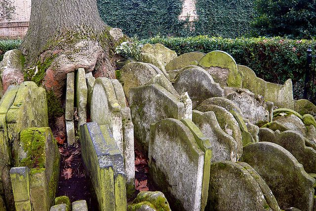 In the churchyard of St Pancras Old Church in London, hundreds of old gravestones circle an ash tree. Of course, these were not how they wer...
