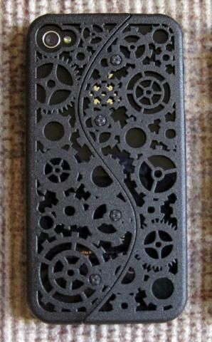Shapeways is so awesome! Neat iPhone case!
