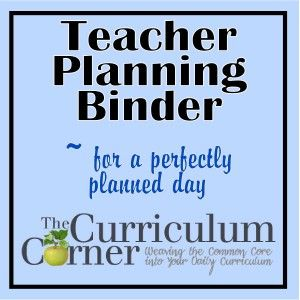 Teacher Planning Binder- includes behavior logs, contact sheets, field trip planning pages, weekly planners to help plan small groups to meet standards, etc. etc... all linked on this page!