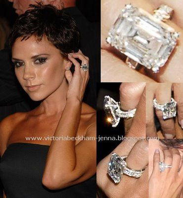 when victoria beckham arrived at the marc jacobs fashion show she wowed us with a - Victoria Beckham Wedding Ring
