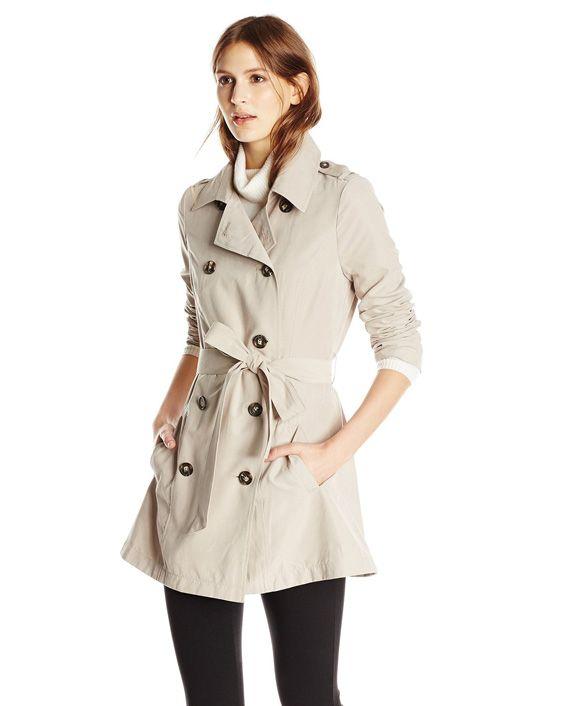 Jack Women's Hopper Drapey Microtwill Coat