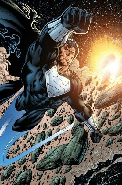Superboy Prime as Superman Prime