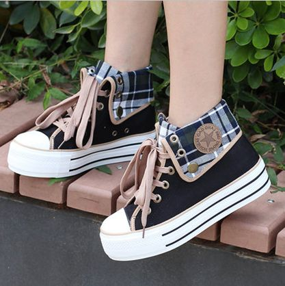 """Cute students canvas shoes Coupon code """"cutekawaii"""" for 10% off"""