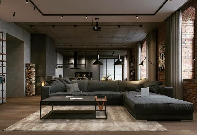 Daily Architecture Home Decor Interior Design Inspiration Pinned At January 13 2020 At 12 49am Beautiful In Living Room Loft Loft Design Loft Interior Design