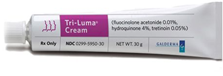 Tri-luma Cream...adored this product for fading freckles and skin discoloration. Best I have ever tried!