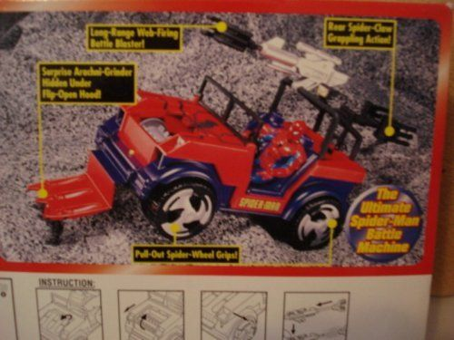 SpiderMan Web Runner 5 Action SpiderMan Figure Included *** Read more  at the image link.
