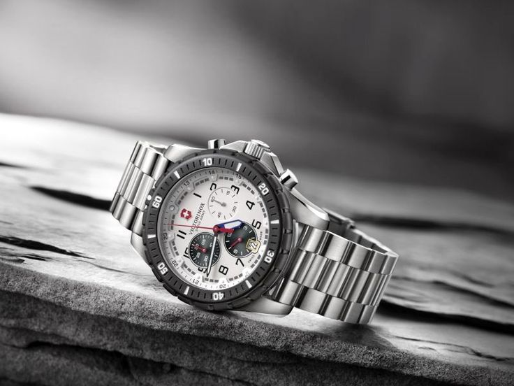 Take a glance at this stunning timepiece from Victorinox. #Victorinox #LuxuryWatches #ThePrimeWatches Visit : https://goo.gl/dtLKBi
