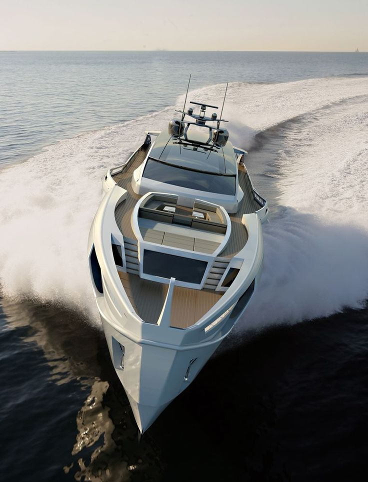 ROSSINAVI presents Longitude 47 | Motor Yacht
