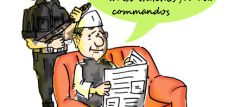US army researchers to make Iron man armour for their commandos .Cartoon on India inspired.