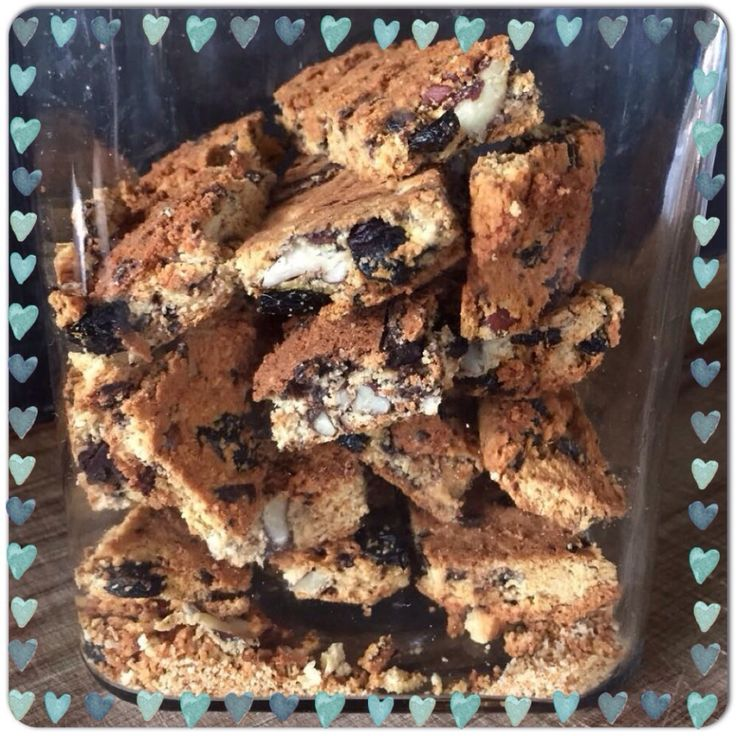 Dark Choc & Pecan {Low Carb} Rusks make Mornings Extra Special - Foodie goes Primal