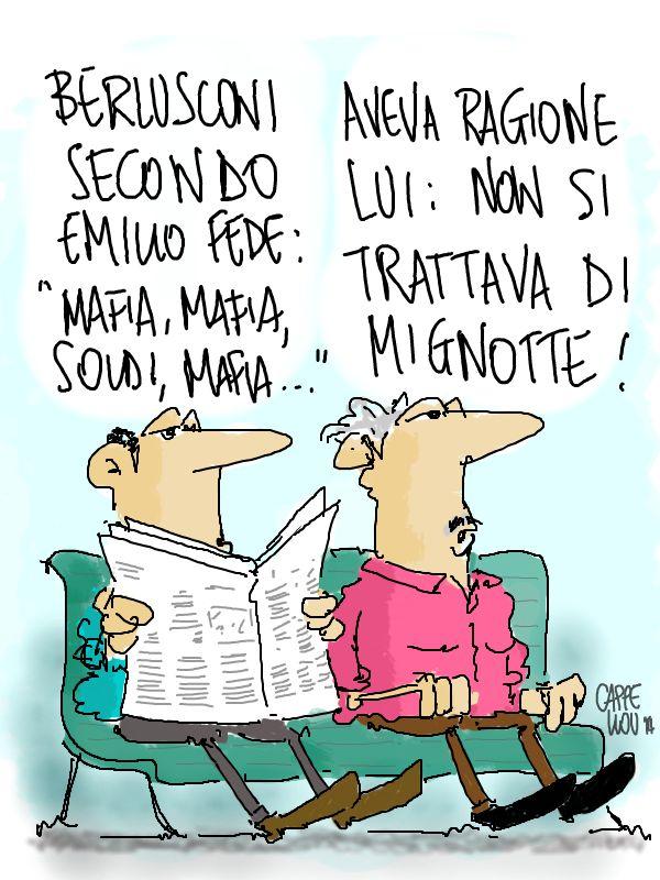 ITALOSAURI  vignette di Valeriano Cappello: confidenze