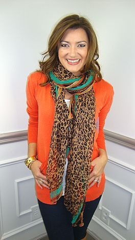 cardigans are perfect to wear with any color scarf!!!