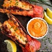 Image result for grilled lobster with orange chipotle vinaigrette