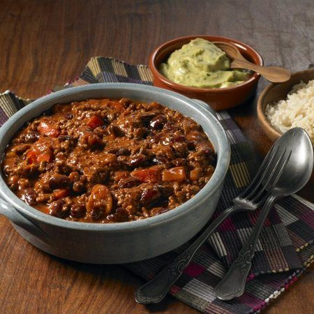 Stay warm with a spicy chilli-con-carne this Bonfire Night