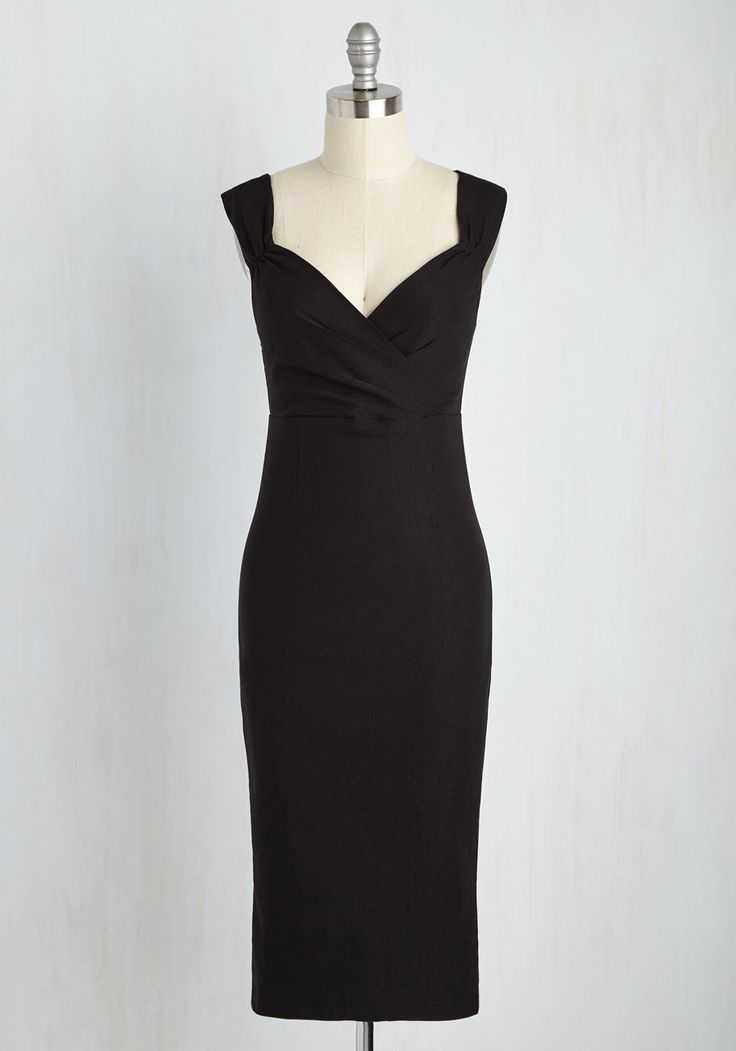 Lady Love Song Dress in Black, #ModCloth