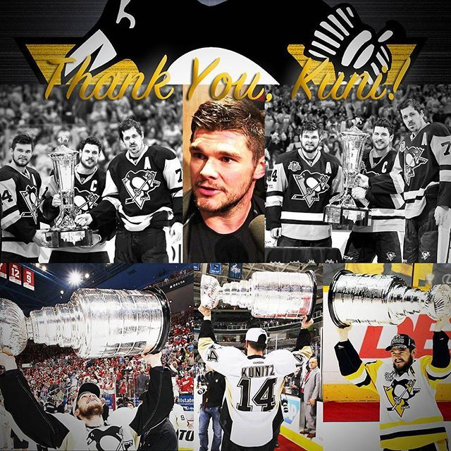 Thank You, Kunitz! Good Luck with the Tampa Bay Lightning! (I hate this time of year).