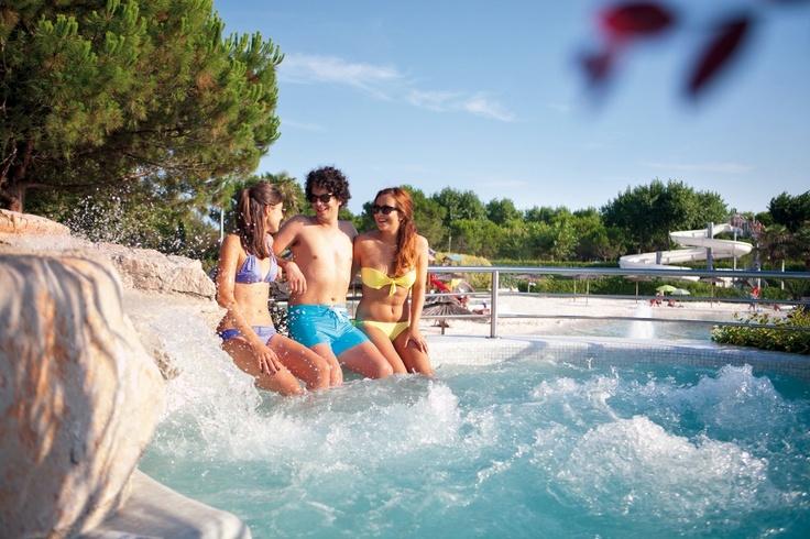 The best remedy against summer heat #acquapark #camping #fun #kids #summer #waterslide