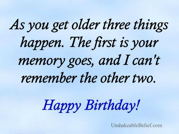 Birthday Quips And Quotes