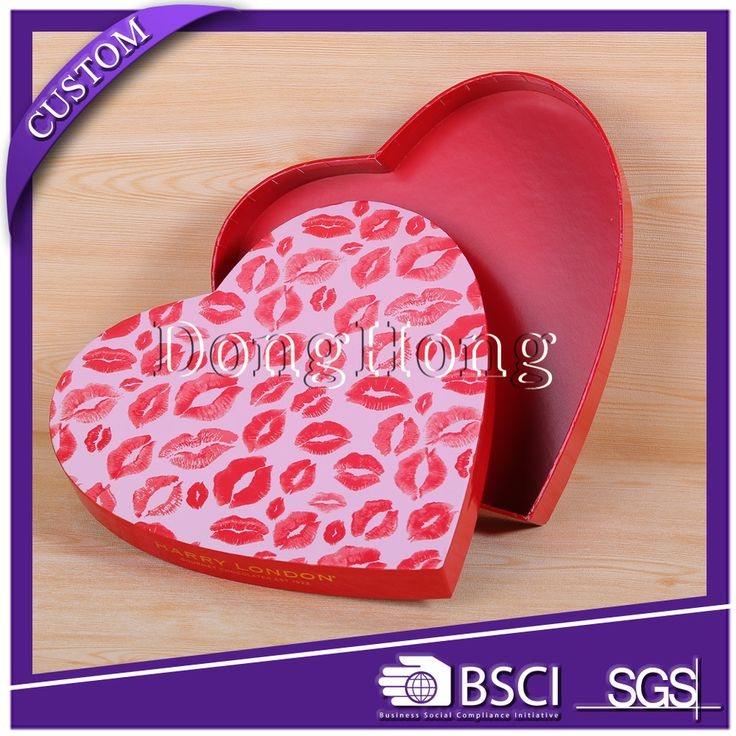 Hard paper good quality candy gift packaging box
