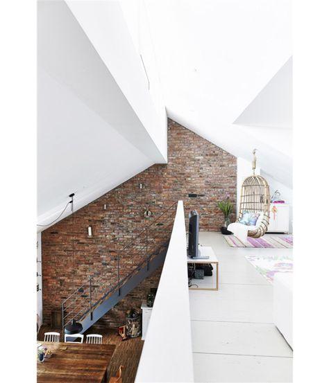 Zeer ruimtebesparend: een vide in huis