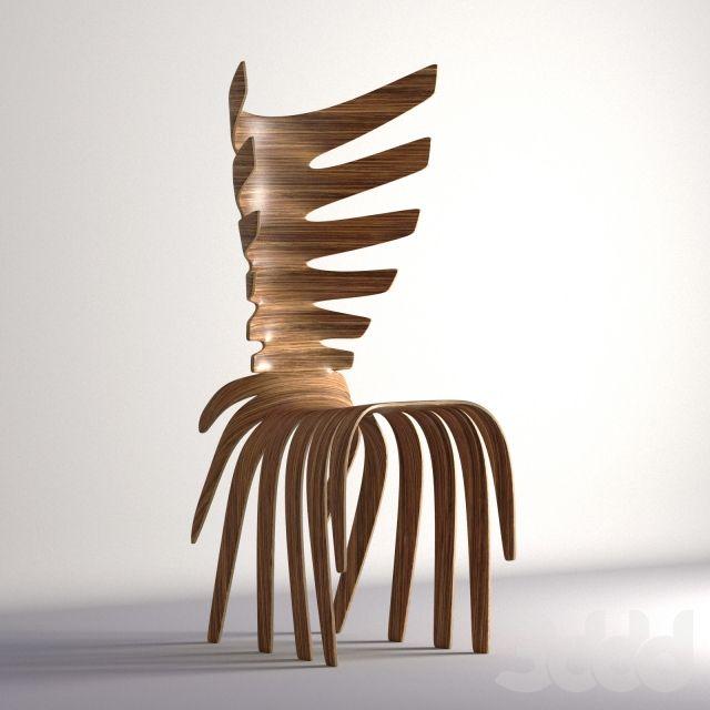 Antonio Pio Saracino стул-сороконожка